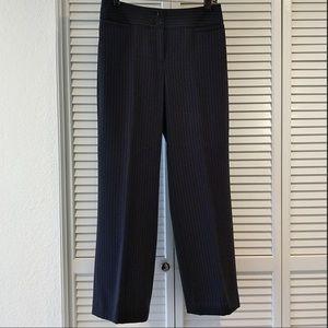 Charcoal Grey Pinstriped Pants